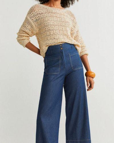 Широкие джинсы расклешенные индийские Mango