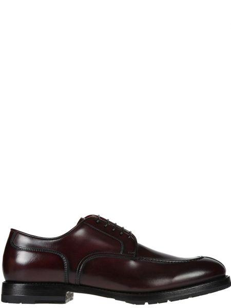 Кожаные туфли - красные Franceschetti