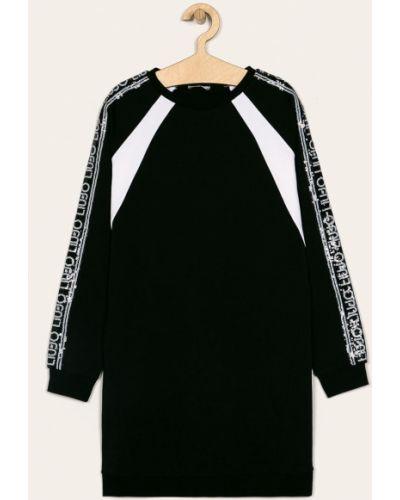 Платье с рукавами свободного кроя черное Liu Jo