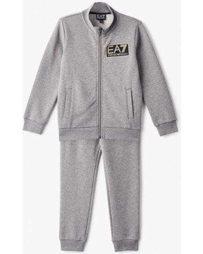Спортивный костюм серый Ea7