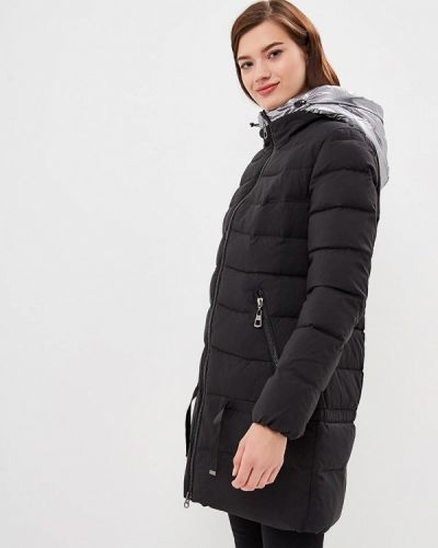Зимняя куртка утепленная черная Tom Farr