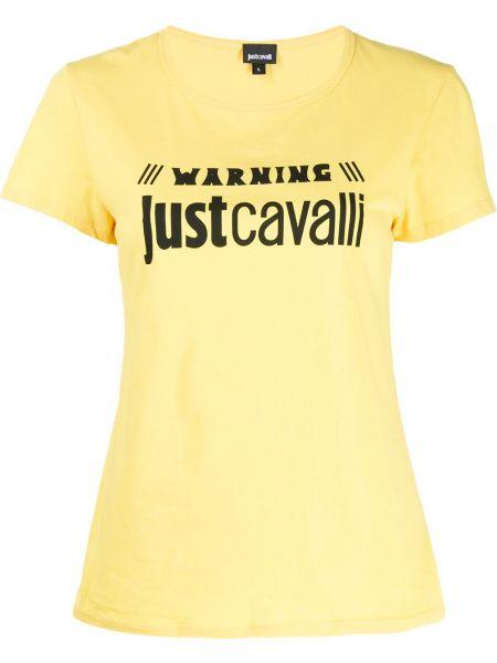 Топ облегающий желтый Just Cavalli