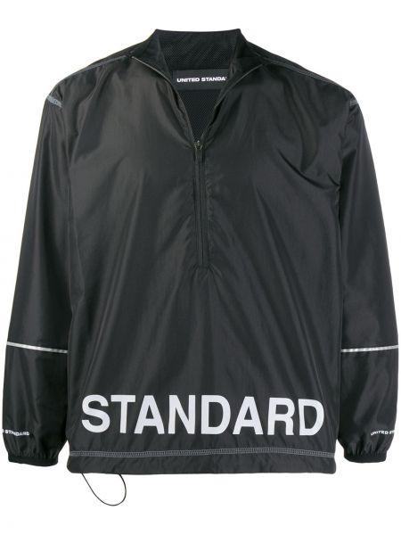 Черная куртка с манжетами United Standard