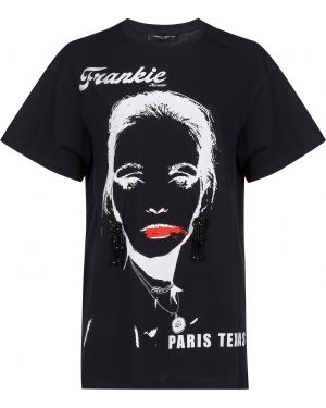 Футбольная черная футболка Frankie Morello