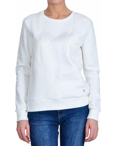 Белый джемпер хлопковый Armani Jeans