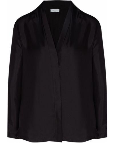 Блузка прямая шелковая Sandro