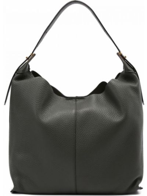 Зеленая кожаная сумка Gianni Chiarini