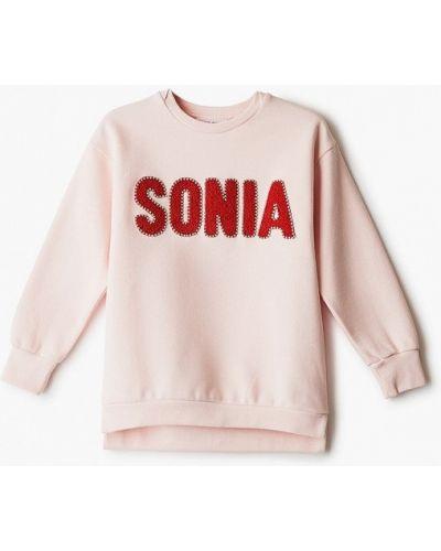 Розовый свитшот Sonia Rykiel