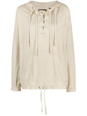 Klasyczna bluza z kapturem bawełniana Isabel Marant