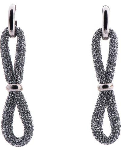 Серебряные серьги серебряного цвета Adami & Martucci