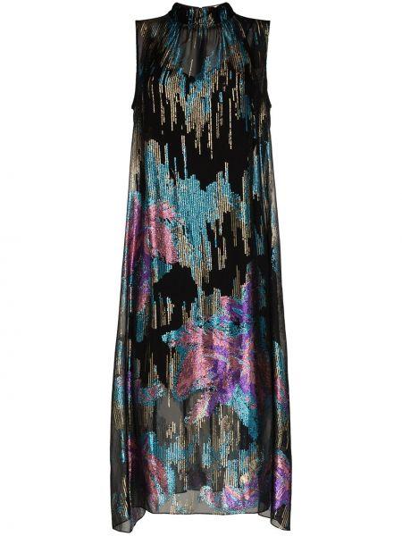 Платье миди на молнии с рукавами Peter Pilotto