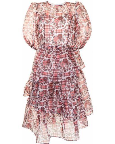 Różowa sukienka w kwiaty Shrimps