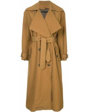 Пальто с поясом из верблюжьей шерсти Muller Of Yoshiokubo