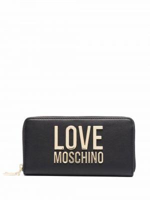Черная барсетка Love Moschino