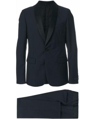 Костюм деловой черный классический Prada