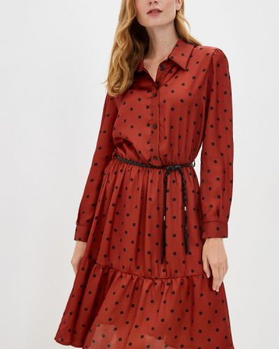 Платье - коричневое Rinascimento