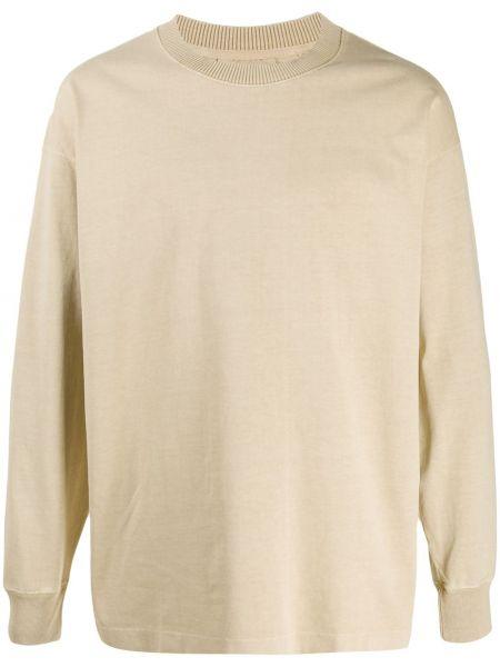 Bluza z długimi rękawami bawełniana oversize Lemaire