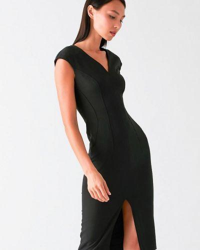 Черное платье с запахом Love Republic