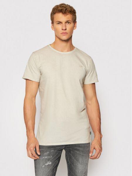 Beżowa koszulka vintage Tigha
