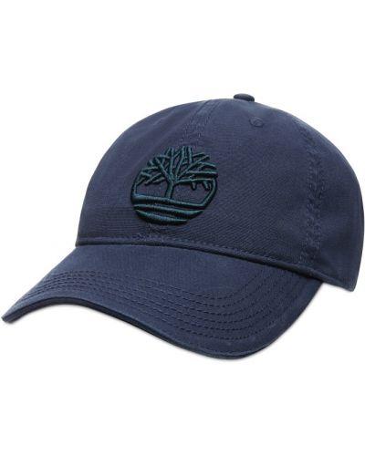 Кожаная кепка - синяя Timberland