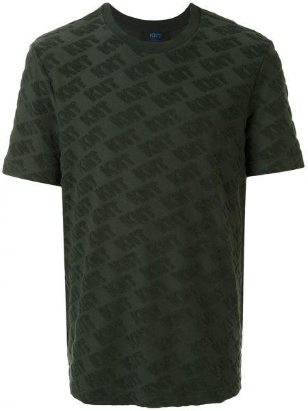 Koszula krótkie z krótkim rękawem z logo prosto Kiton