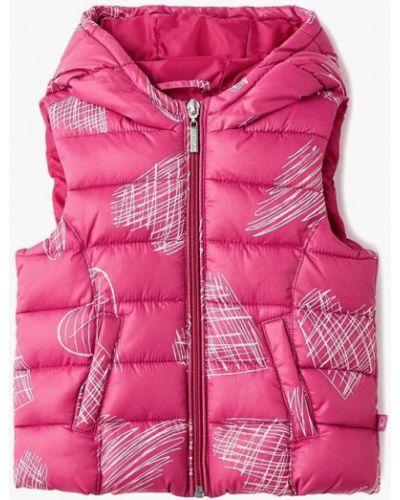 Розовый жилет теплый United Colors Of Benetton