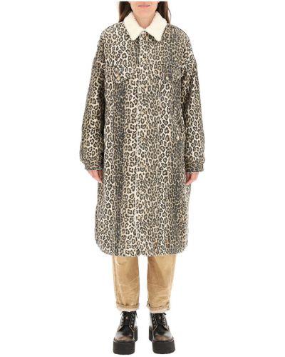 Beżowy płaszcz R13