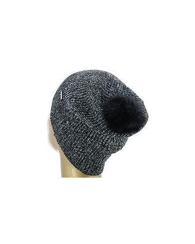 Черная хлопковая шапка Liu Jo