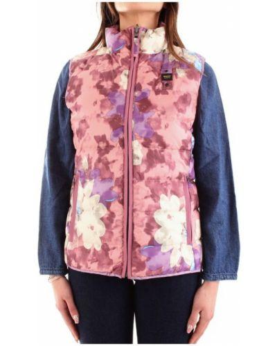 Różowa kamizelka elegancka Blauer
