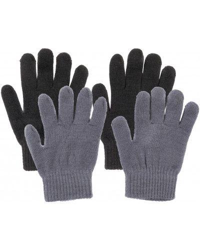 Черные перчатки акриловые Icepeak