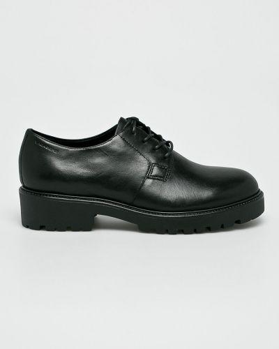 Кожаные туфли на шнуровке на каблуке Vagabond
