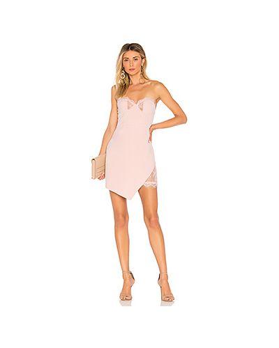 Облегающее платье со вставками на молнии Nbd