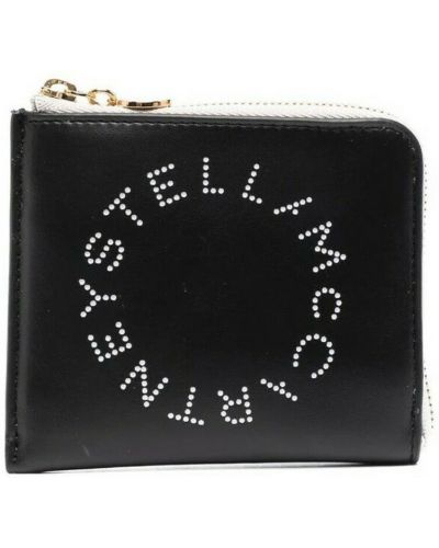 Czarny portfel Stella Mccartney