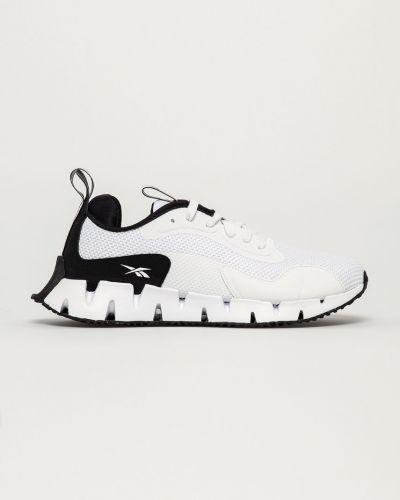 Białe sneakersy sznurowane Reebok