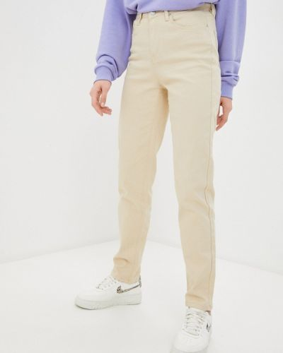 Повседневные бежевые брюки Zarina