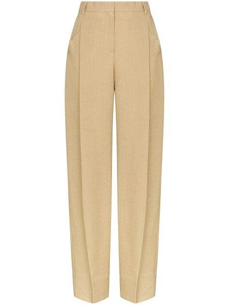 Spodnie z kieszeniami pofałdowany Jacquemus