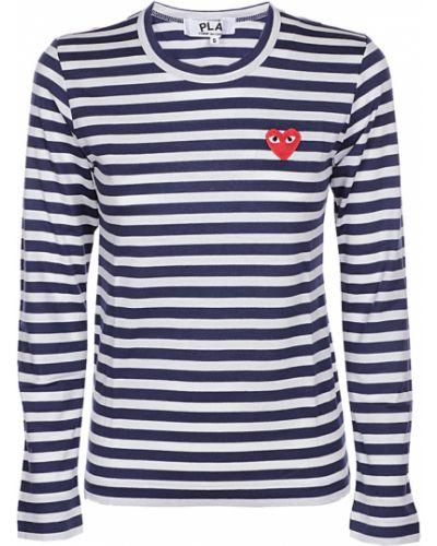 T-shirt - niebieska Comme Des Garcons Play