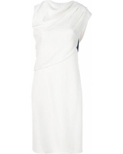 Облегающее платье миди - белое Narciso Rodriguez
