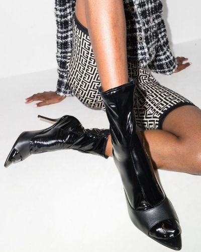 Черные носки из эластана Wolford