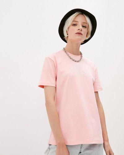 Розовая футболка с короткими рукавами Gcds