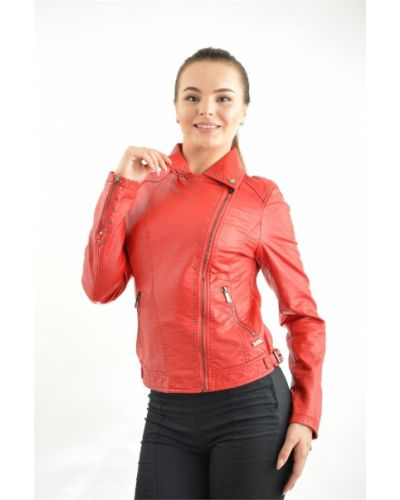 Куртка из полиуретана - красная Gaudì
