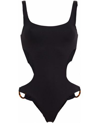 Открытый черный купальник с открытой спиной Melissa Odabash
