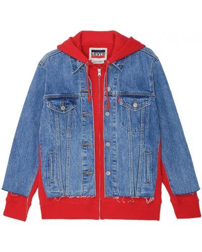 Куртка с капюшоном джинсовая на молнии Levi's®