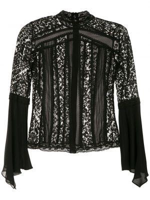 Кружевная блузка - черная Martha Medeiros