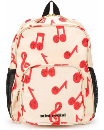 Рюкзак на бретелях на молнии с карманами Mini Rodini