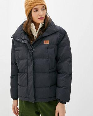 Зимняя куртка утепленная черная Billabong