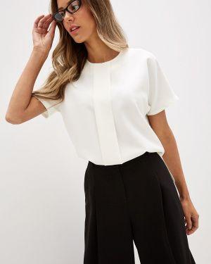 Блузка с коротким рукавом белая Rivadu