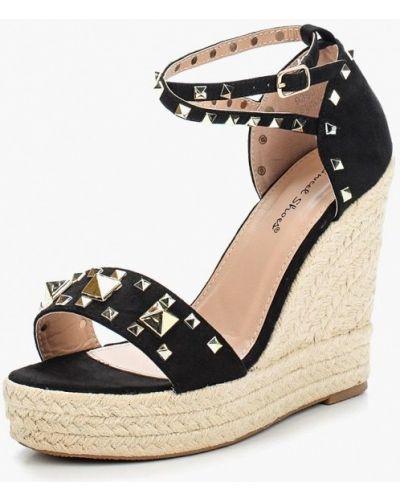 Черные эспадрильи Sweet Shoes