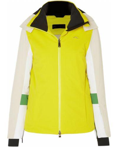 Куртка с капюшоном - желтая Kjus