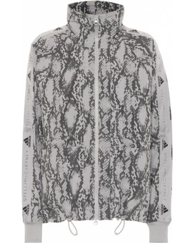 Куртка леопардовая для бега Adidas By Stella Mccartney